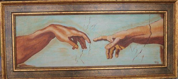 La main de Dieu dans 1.1 * HENRARD Any Any-29-la-main-de-Dieu-petit